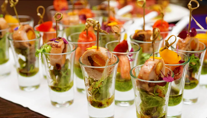 Appetizers - Summit Manor - Historic Wedding Venue - St. Paul Minnesota
