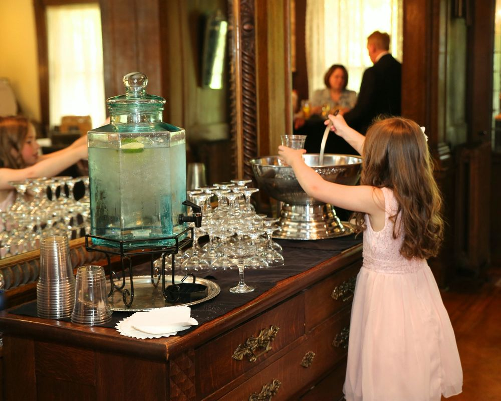 Wedding Beverage Station - Summit Manor - Historic Wedding Venue - St. Paul Minnesota