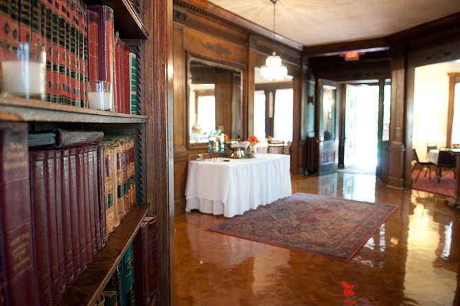 Reception Hall  - Summit Manor - Historic Wedding Venue - St. Paul Minnesota