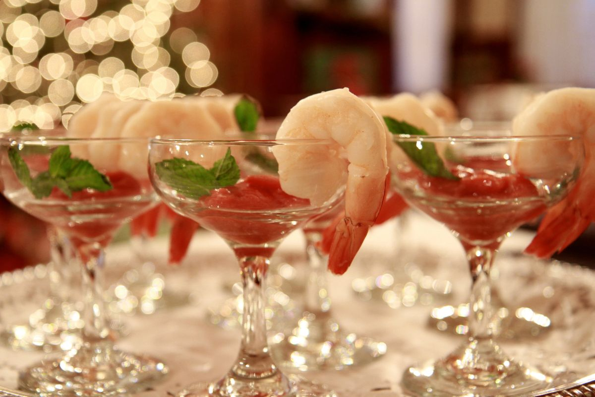 Shrimp Cocktail - Summit Manor - Historic Wedding Venue - St. Paul Minnesota