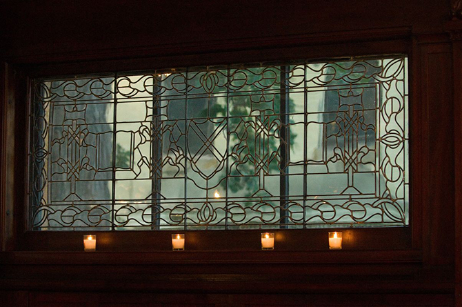 Stained Glass - Summit Manor - Historic Wedding Venue - St. Paul Minnesota