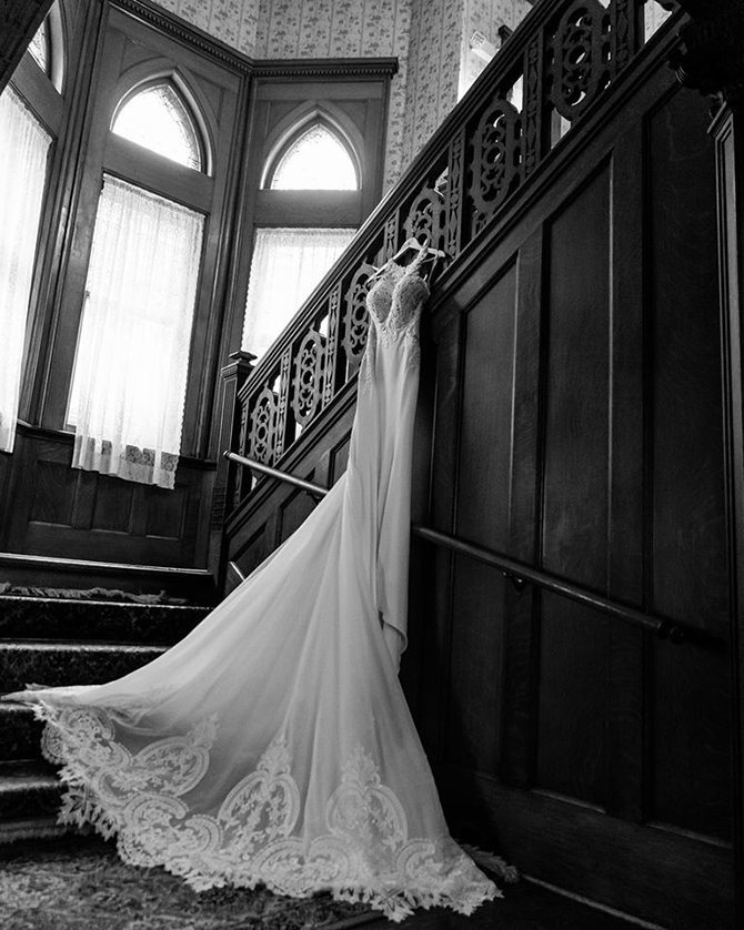 Grand staircase - Summit Manor - Historic Wedding Venue - St. Paul Minnesota