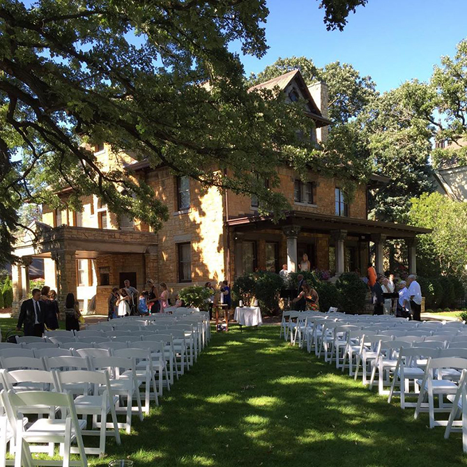 Wedding Ceremony - Summit Manor - Historic Wedding Venue - St. Paul Minnesota