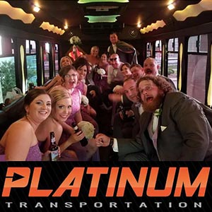 Gay Wedding Party Bus Transportation
