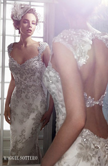 The Brides Shoppe - Maggie Sottero Wedding Gown