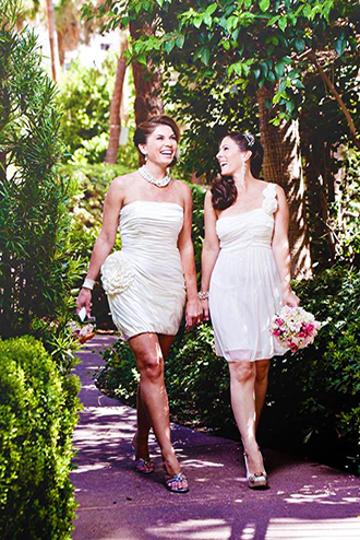Las vegas lgbt weddings garden wedding chapels at the for Gay wedding packages las vegas