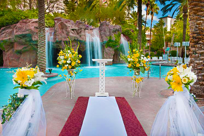 Flamingo Wedding Chapel Las Vegas Nevada