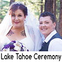 Lake Tahoe LGBT Wedding Officiant