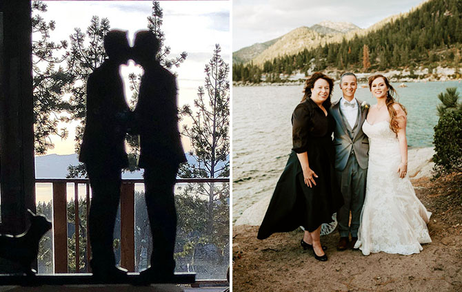 Lake Tahoe LGBT Wedding Ceremony Officiant Gay Weddings