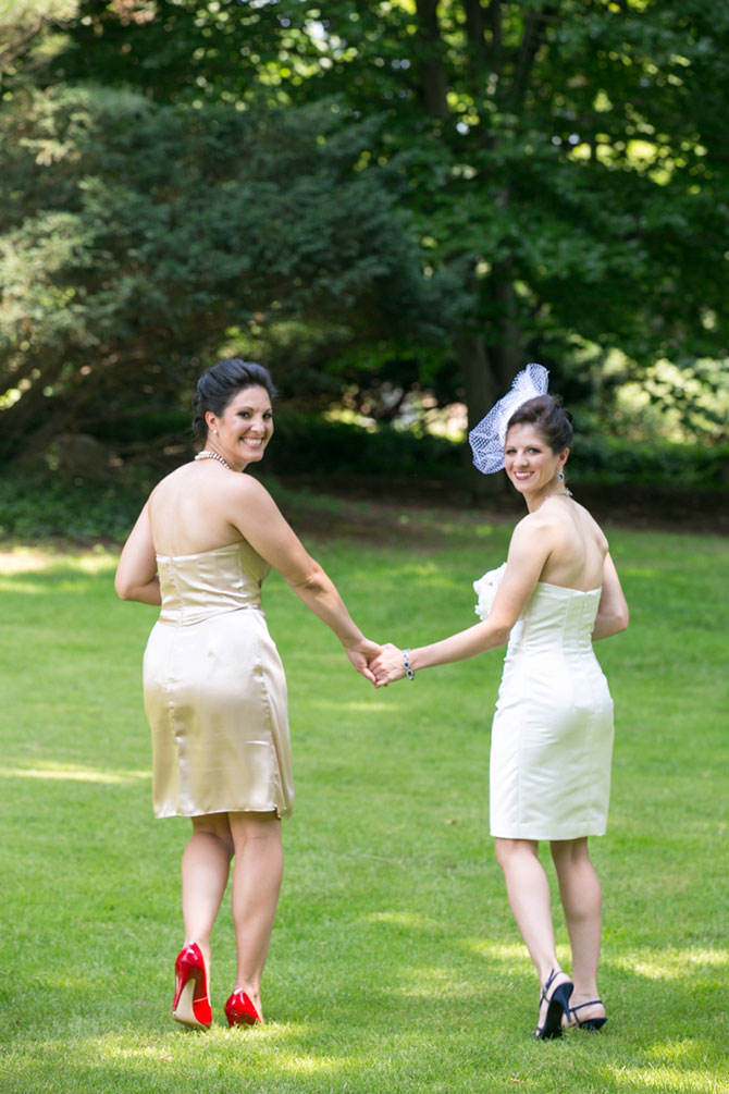Christopher Lane Photography - Photograph of lesbian brides