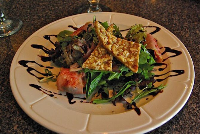 Prosciuto salad with balsamic reduction - Culinary Creations