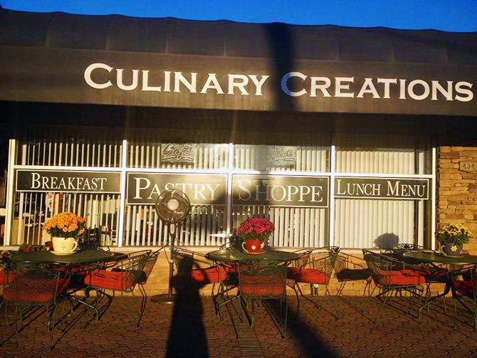 Culinary Creations Pastry Shop Front