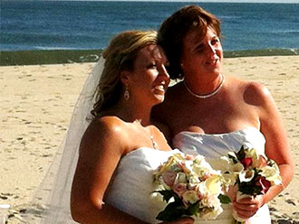 For This Joyous Occasion - Lesbian brides
