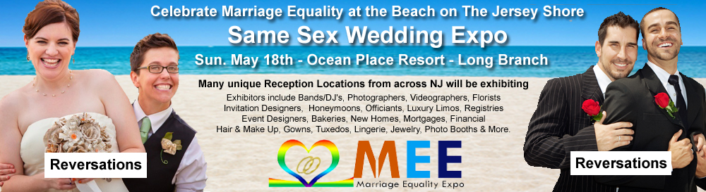 New Jersey Marriage Equality EXPO - Gay Wedding EXPO