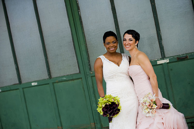 lgbt wedding gorgeous bouqets and wedding dresses - Studio A Images