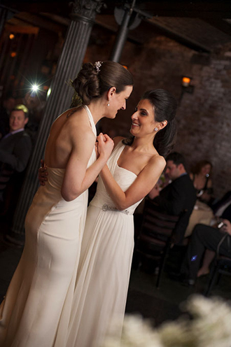wedding first dance - LGBT brides - Studio A Images