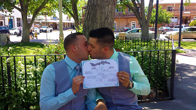 Same sex marriage in new mexico