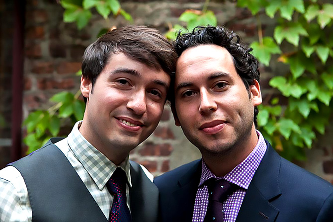 Alice Soloway Weddings - Gay grooms