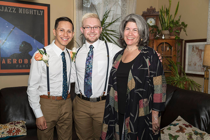 New York Gay Wedding - Alice Soloway Weddings - Brooklyn, New York City
