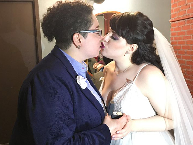 Same-Sex Weddings - Alice Soloway Weddings - Brooklyn, New York City