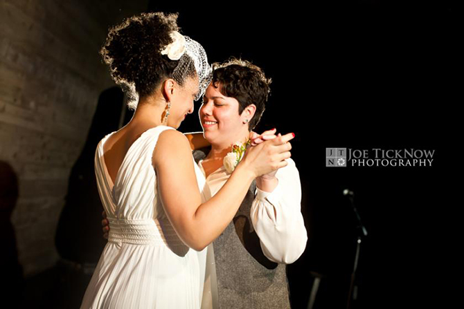 Same-Sex Wedding First Dance - Alice Soloway Weddings - Brooklyn, New York City