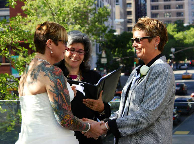 New York LGBTQ Wedding - Alice Soloway Weddings - Brooklyn, New York City