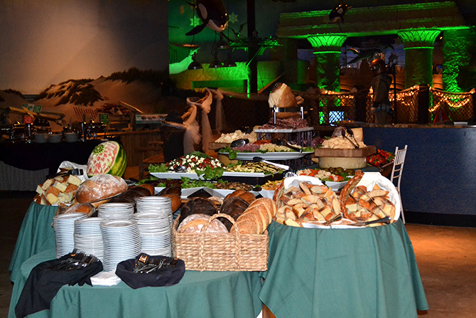 Atlantis Banquets and Events - Buffet table