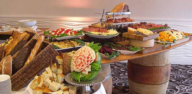 Wedding Appetizers - Atlantis Banquets and Events - Long Island, New York LGBT Wedding Receptions