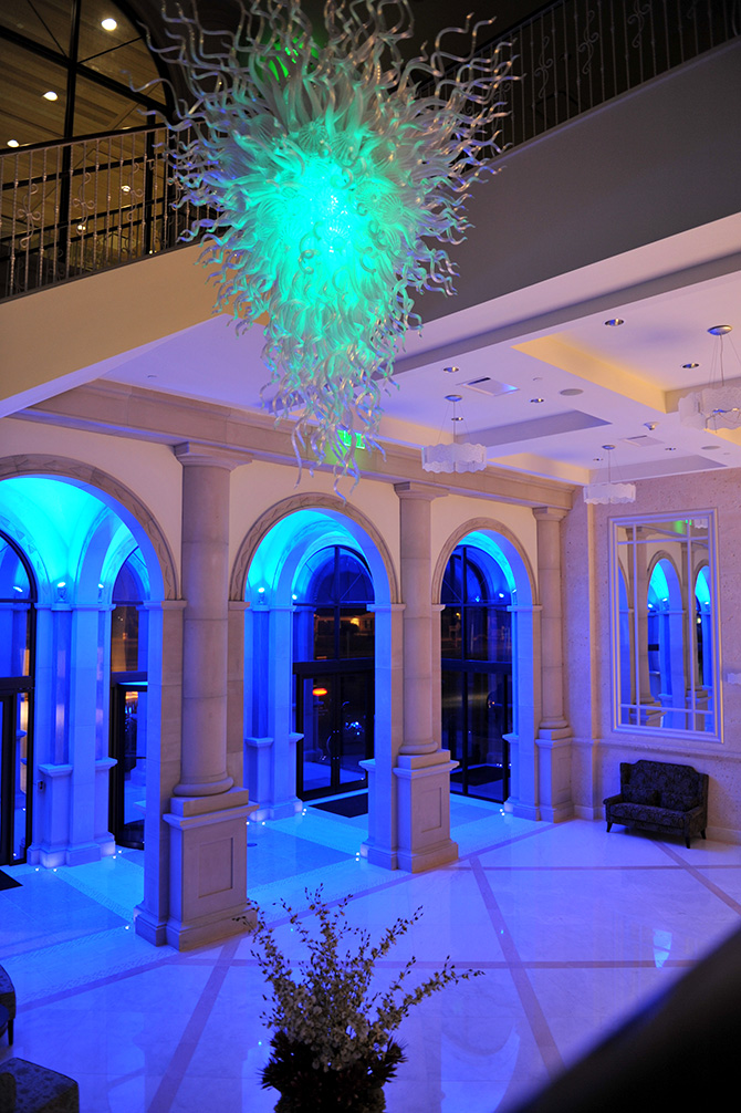 Chandelier - Atlantis Banquets and Events - Long Island, New York LGBT Wedding Receptions