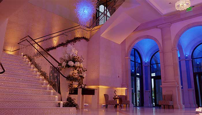 Grand Staircase - Atlantis Banquets and Events - Long Island, New York LGBT Wedding Receptions