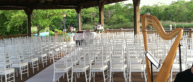 Outdoor wedding ceremony - Atlantis Banquets and Events - Long Island, New York LGBT Wedding Receptions