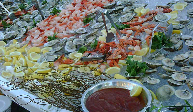 Shrimp and Raw Bar - Atlantis Banquets and Events - Long Island, New York LGBT Wedding Receptions