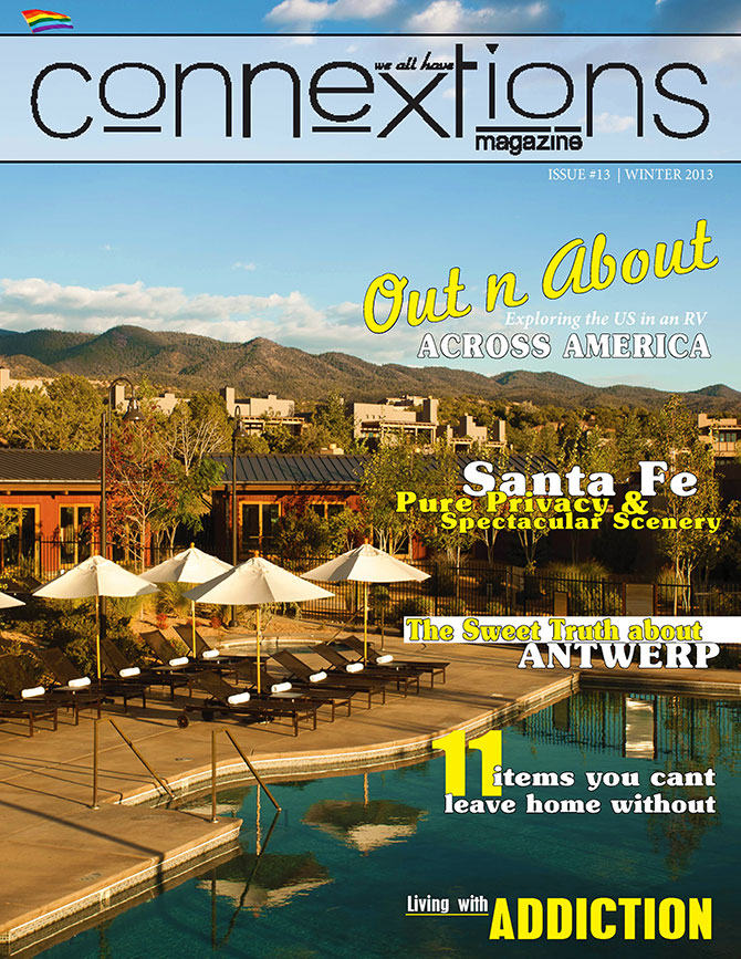 Connextions Magazine - Cover Out n About Accross America