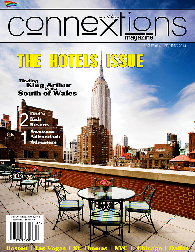 Connextions Magazine - The Hotels Issue Cover