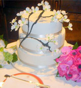 EM - Event Management - Willow wedding cake