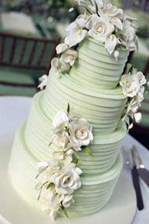 EM - Event Management - 5-tier white wedding cake
