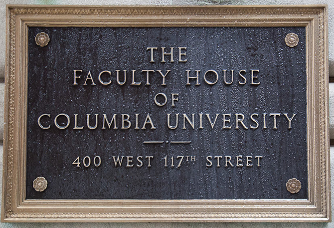 Faculty House, Columbia University
