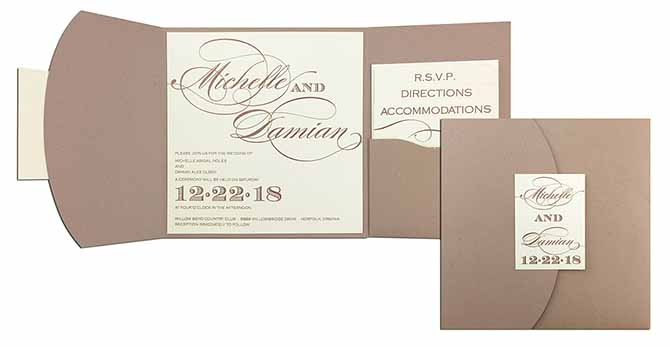 Gay Marriage Wedding Invitations: New York City LGBT Wedding Invitations