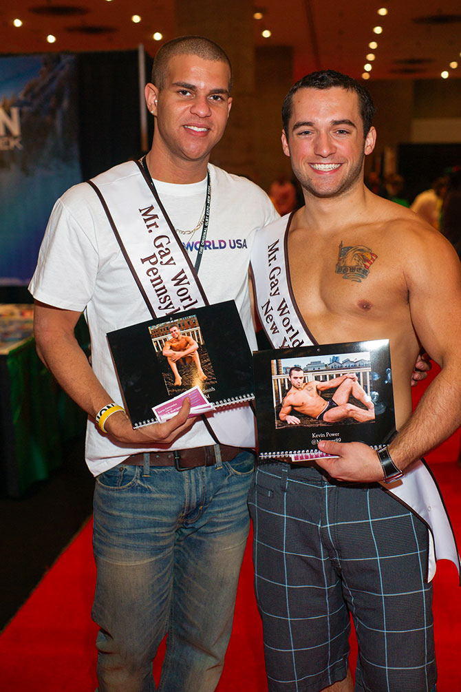 The LGBT Expo - Gay Couple