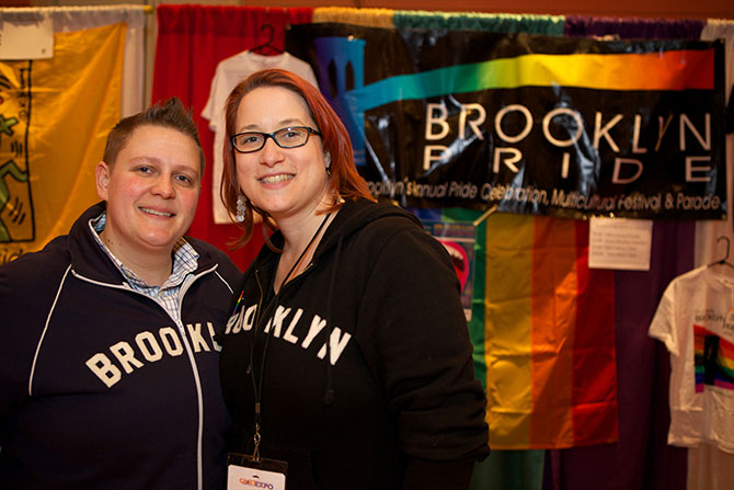 The LGBT Expo - Lesbian Couple