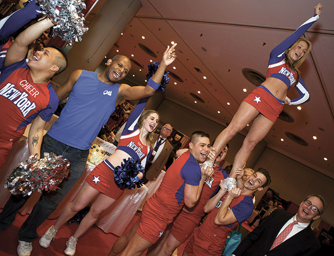 The LGBT Expo - LGBT Cheerleaders