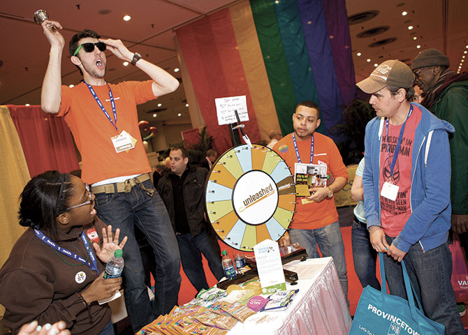 The LGBT Expo - Gay & Lesbian Vendor Booth