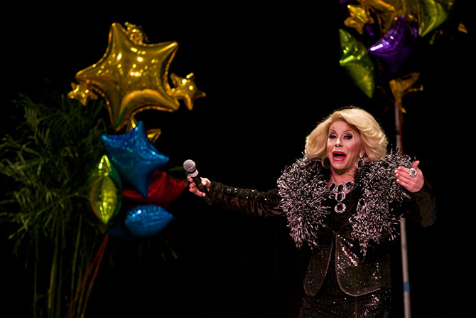 The LGBT Expo - Joan Rivers Impersonator