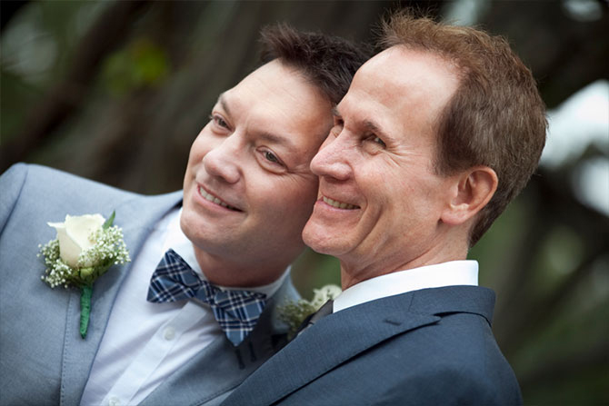 Matthew Knip Photography - Wedding portait photography of gay and lesbian couples
