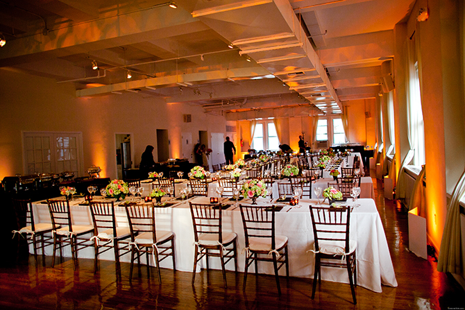 Midtown Loft & Terrace - Indoor Reception Site with Uplighting