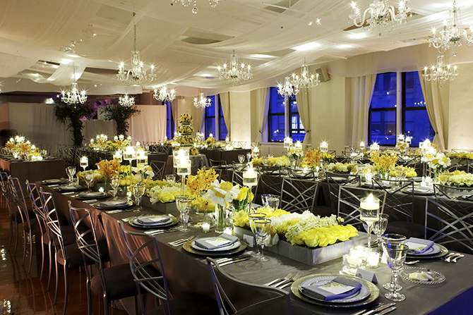 Midtown Loft & Terrace - Reception Venue with Crystal Chandelier