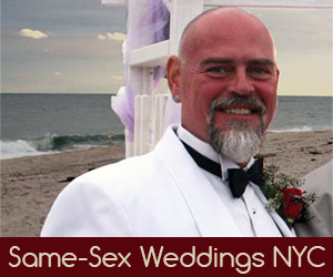 Manhattan New York Gay Wedding Officiant