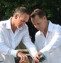 LGBT Couple - Sand Ceremony - Officiant Long Island