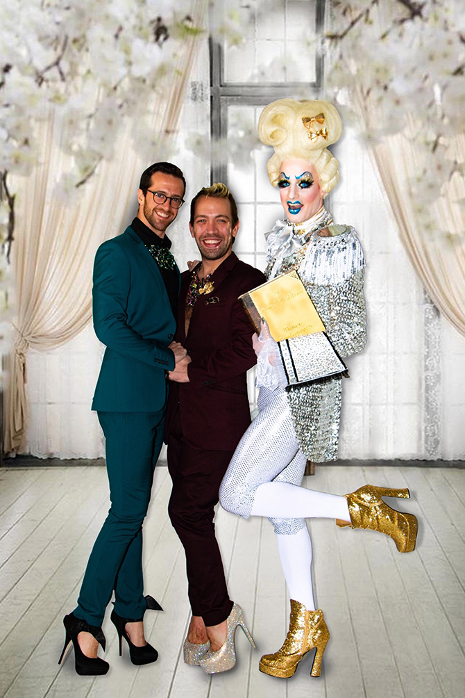 Prince Powderpouffe LGBTQ Wedding Officiant New York New York