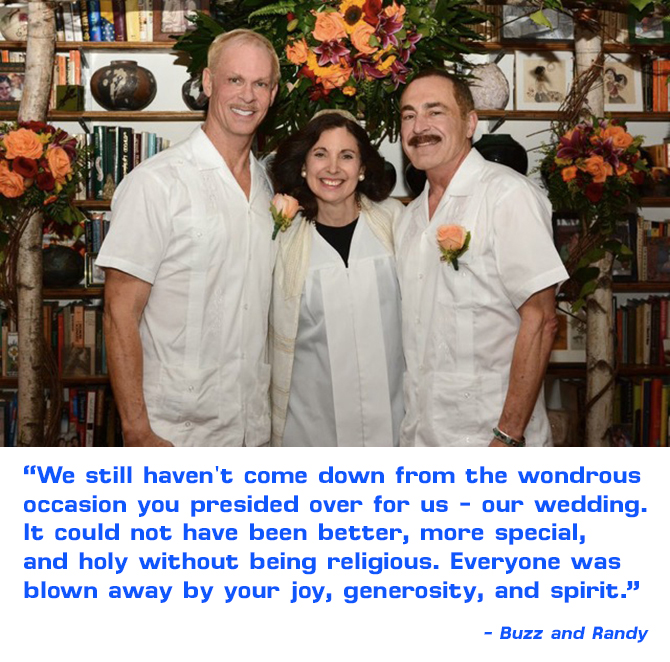 Rabbi Jill Hausman LGBT Wedding Rabbi in New York City